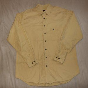 Eddie Bauer Yellow Button Up Shirt - Length 33